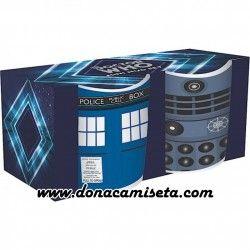 Doctor Who Pack de 2 Mini Tazas