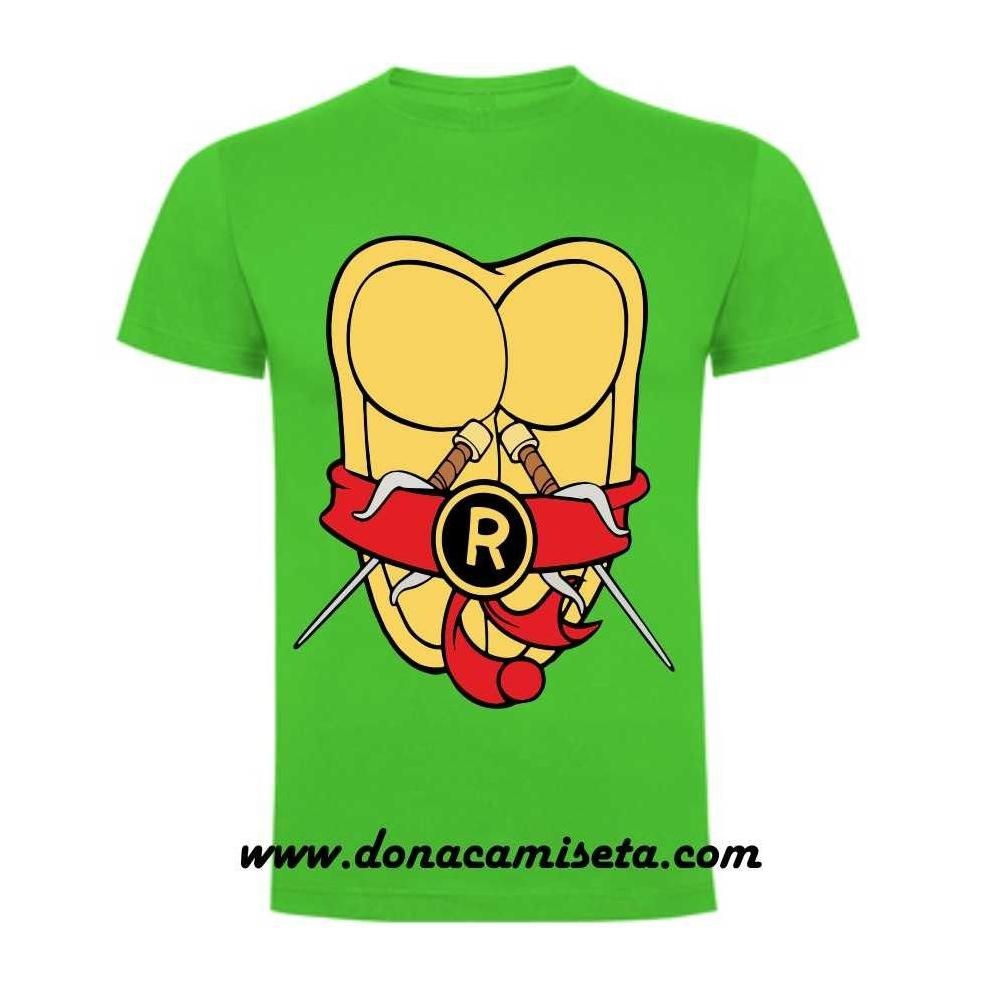 Camiseta Tortugas Ninja cuerpo