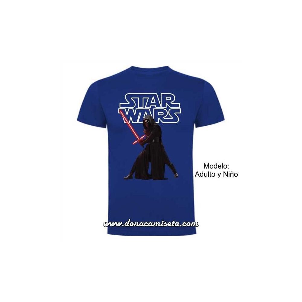 Camiseta Kylo espada (Star Wars)
