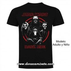 Camiseta Dark Side (Star Wars)