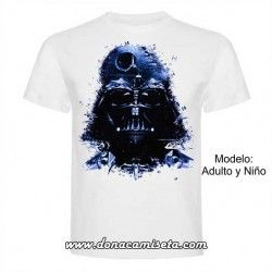 Camiseta Darth Vader Naves (Star Wars)