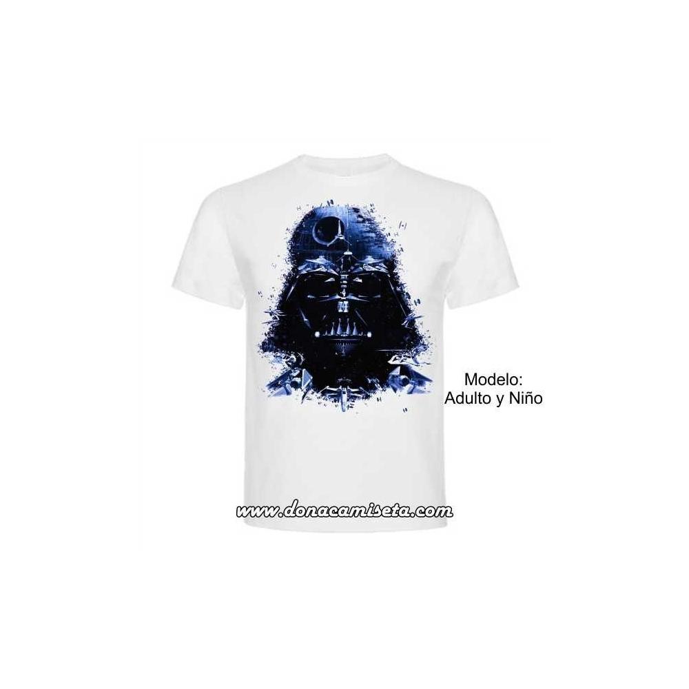 Camiseta Darth Vader Naves (Star Wars)