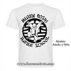 Camiseta Mutenroshi School