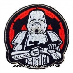 Parche Bordado Stormtrooper Star Wars