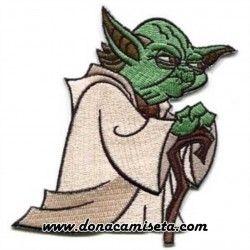 Parche Bordado Yoda Star Wars