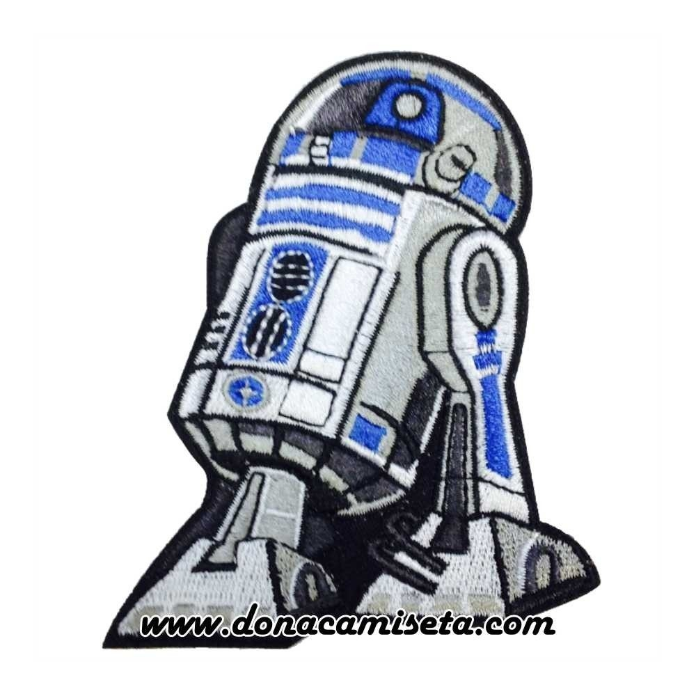 Parche Bordado R2D2 Star Wars