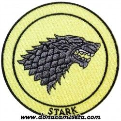 Parche Bordado Stark (Game of Thrones)
