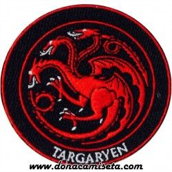 Parche Bordado Targaryen (Game of Thrones)