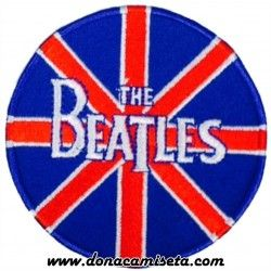 Parche Bordado The Beatles Bandera