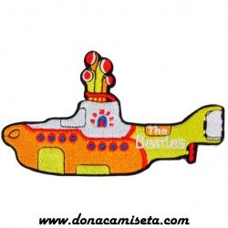 Parche Bordado The Beatles Submarino