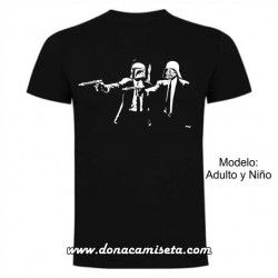 Camiseta Pulp Fiction Star Wars