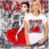 Camiseta Audrey Vogue Encaje