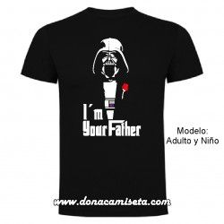 Camiseta I´m your father (Darth Vader)