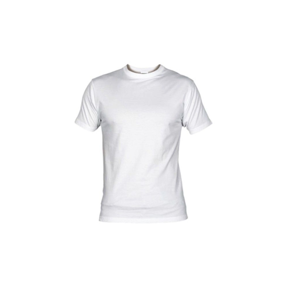 Camiseta MC Unisex Blanca Personalizable Calidad Media