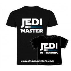 Camiseta padre Jedi Master