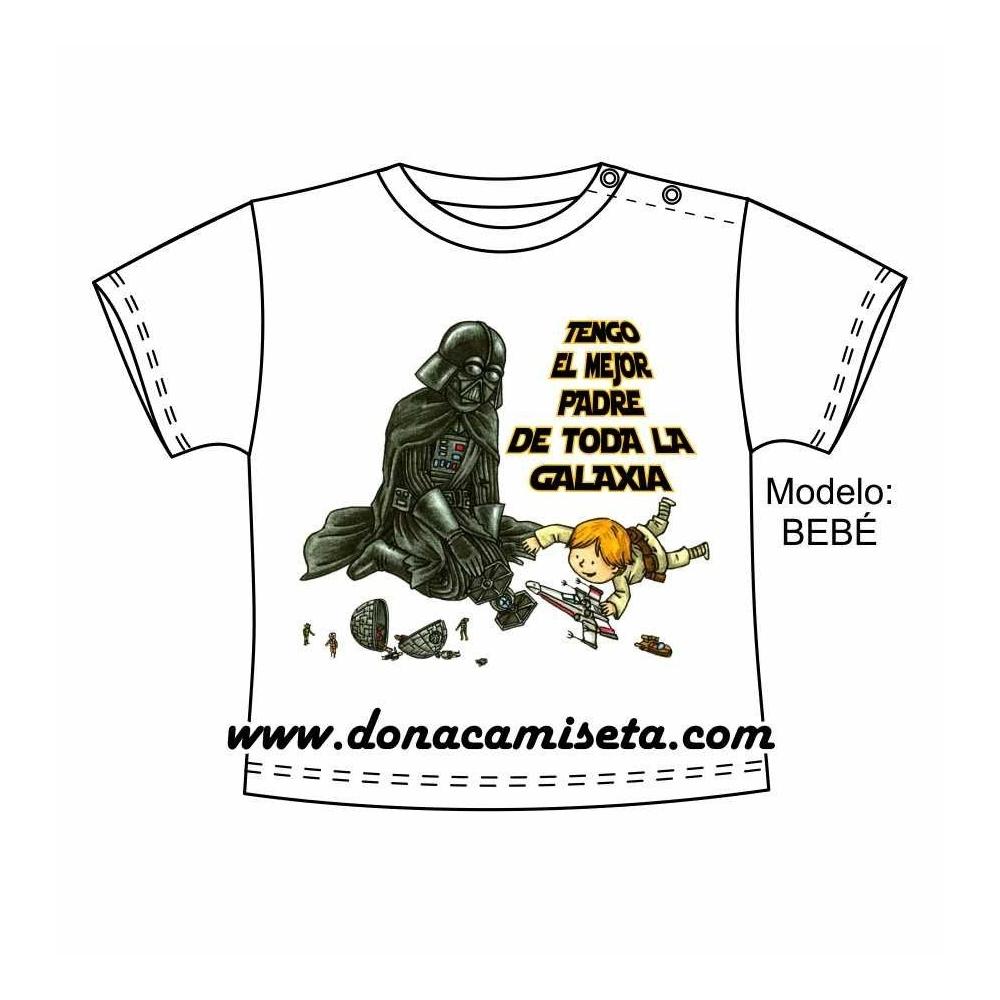 Camiseta Tengo el mejor padre de la galaxia