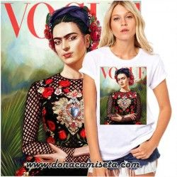 Camiseta Frida Vogue