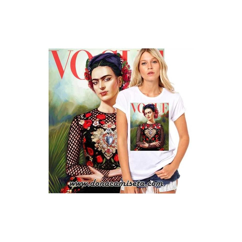 Camiseta Frida Vogue