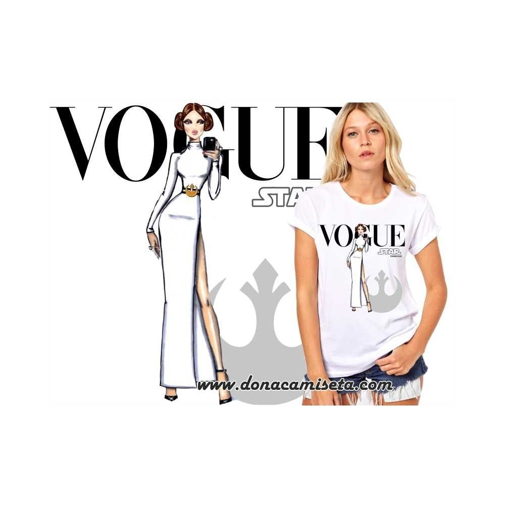Camiseta Princesa Leia Vogue