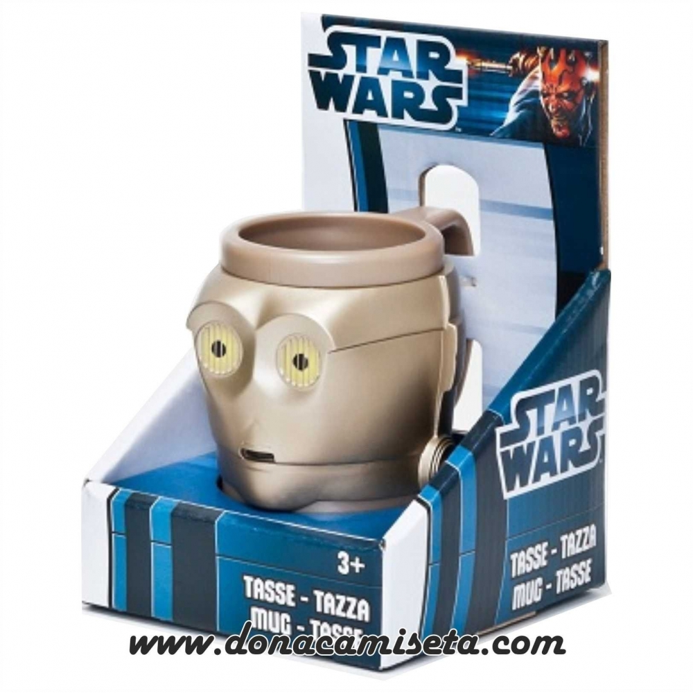 Taza Star Wars 3D C-3PO