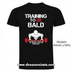 Camiseta Training to be Bald