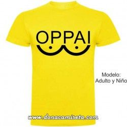 Camiseta Oppai (One Punch Man)