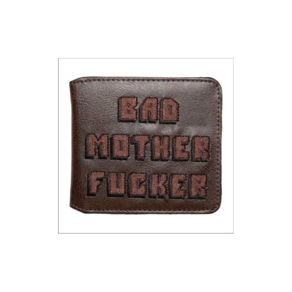 "Cartera Pulp Fiction ""Bad Mother Fucker"""