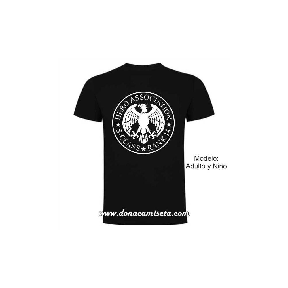 Camiseta Hero Association Rank ( Nº personalizable)