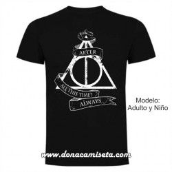 Camiseta Harry Potter Always