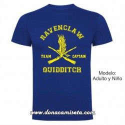 Camiseta Ravenclaw Quidditch Team Captain (Harry Potter)