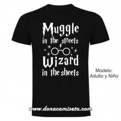 Camiseta Muggle Wizard (Harry Potter)