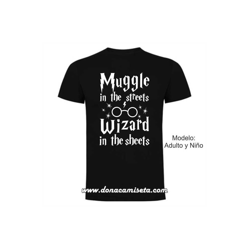 Camiseta Muggle Wizard (Harry Potter)