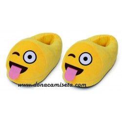 Zapatillas Emoticonos Guiño