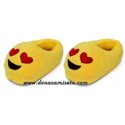 Zapatillas Emoticonos Enamorado