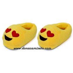 Zapatillas Emoticonos Enamorado