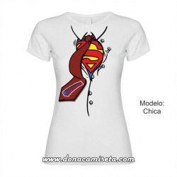 Camiseta camisa Superheroe Supermamá