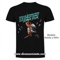 Camiseta Bruce Springsteen River Tour