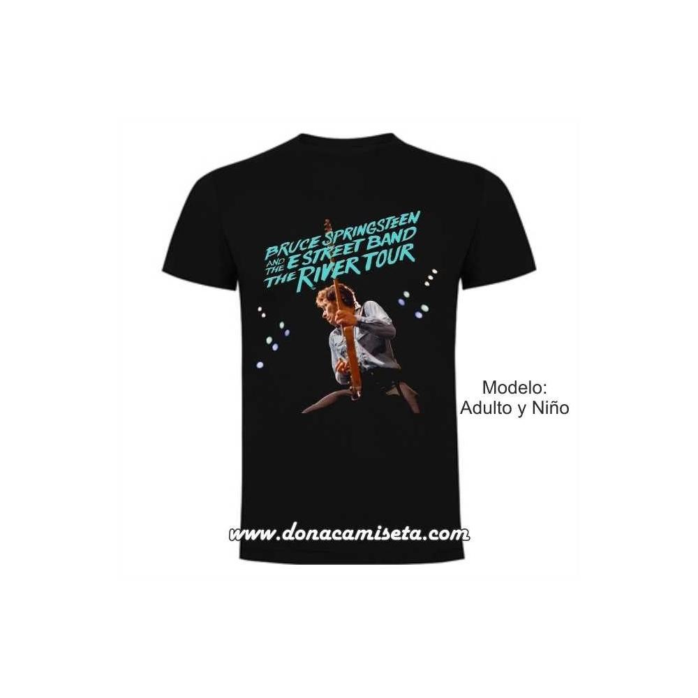 Camiseta Bruce Springsteen River Tour