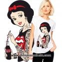 Camiseta Blancanieves Rockabilly