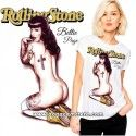 Camiseta Betty Page Rolling Stone
