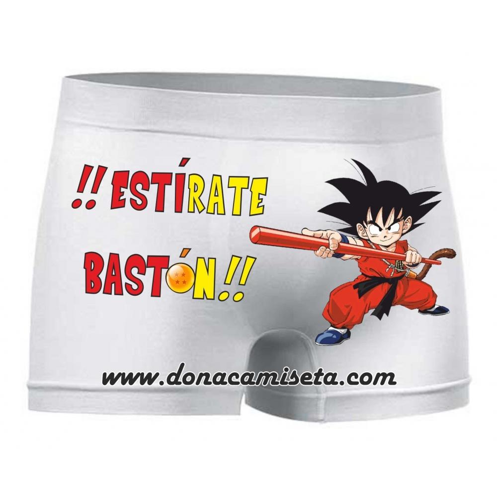 Boxer Goku Estírate Bastón