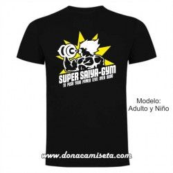Camiseta Super Saiya-Gym (Dragon Ball)