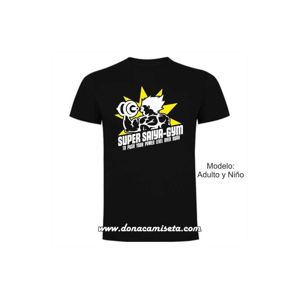 Camiseta Super Saiya-Gym (Dragon Ball)