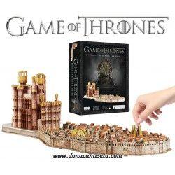 Puzzle 3D Juego de Tronos Desembarco del Rey