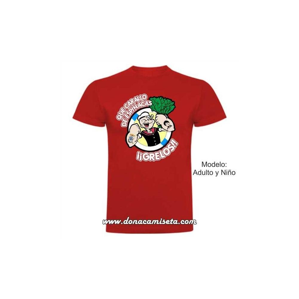 Camiseta Popeye Grelos