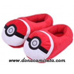 Zapatillas pokemon Pokeball cerradas