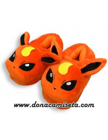 Zapatillas pokemon Flareon cerradas
