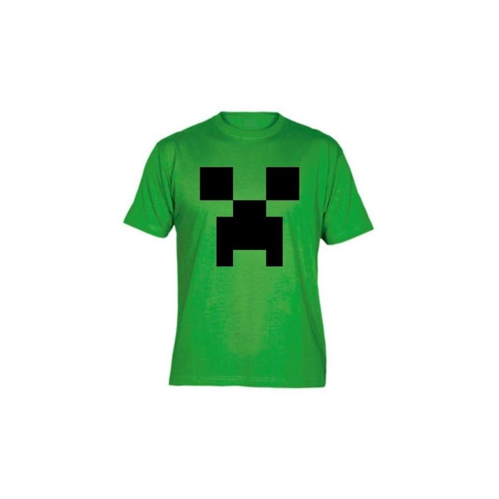 Camiseta MC Unisex Minecraft Creeper