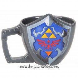 Taza 3D escudo Hyliano Zelda