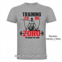 Camiseta Training to be Zoro